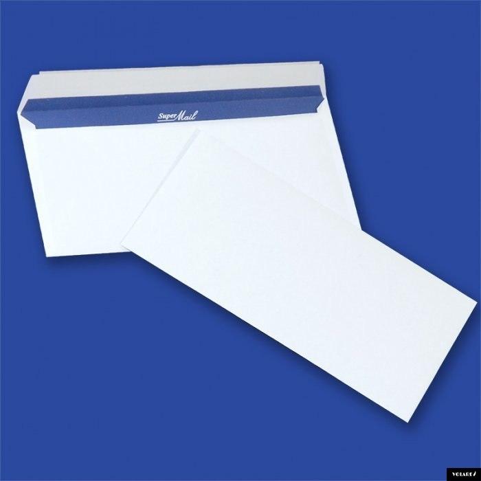 Koperty SUPER MAIL DL HK białe 100g (400szt.) NC s