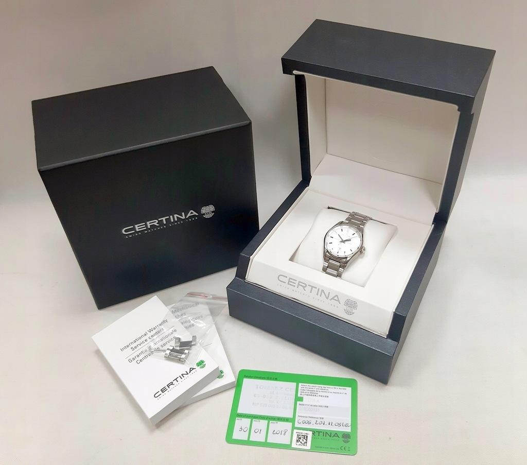 Zegarek Certina DS-1 C006207A PUDEŁKO ogniwa
