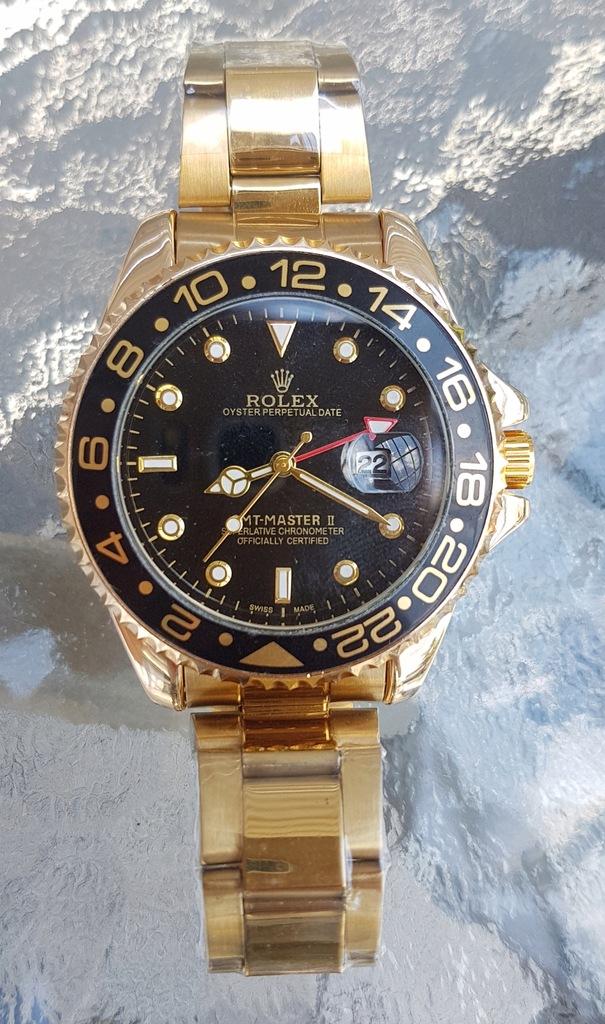 Rolex Daytona MEGA ZEGAREK męski 40mm złoty
