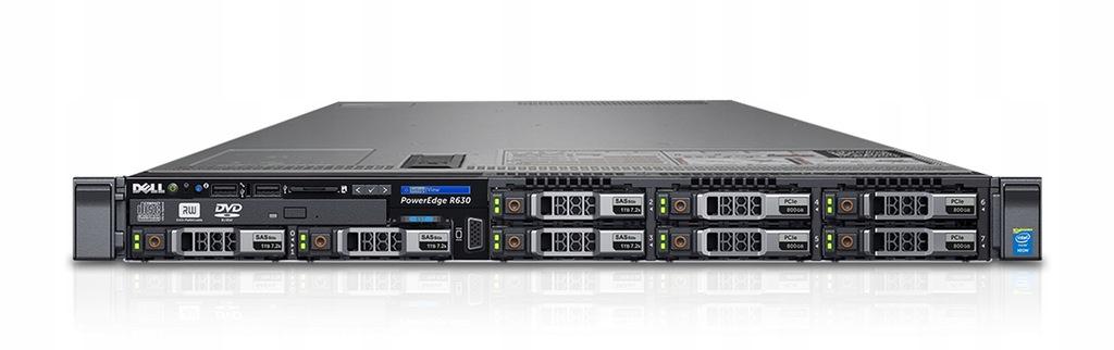 SERWER DELL R630 2X XEON E5-2620 V3 128GB 2TB SAS