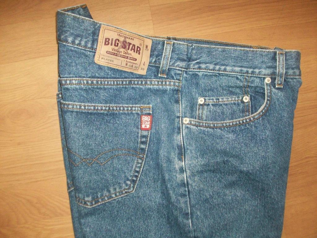 SPODNIE męskie jeans BIG STAR pas 100