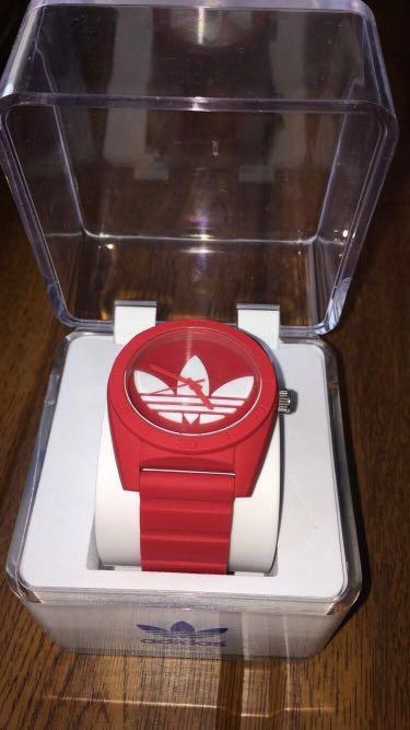 Zegrek adidas originals Santiago -czerwony