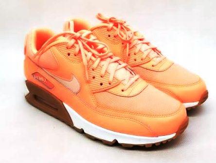 pomarańczowe buty nike