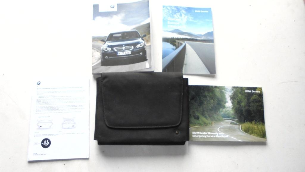 BMW E61 KSIĄŻKA ETUI INSTRUKCJA KOMPLET