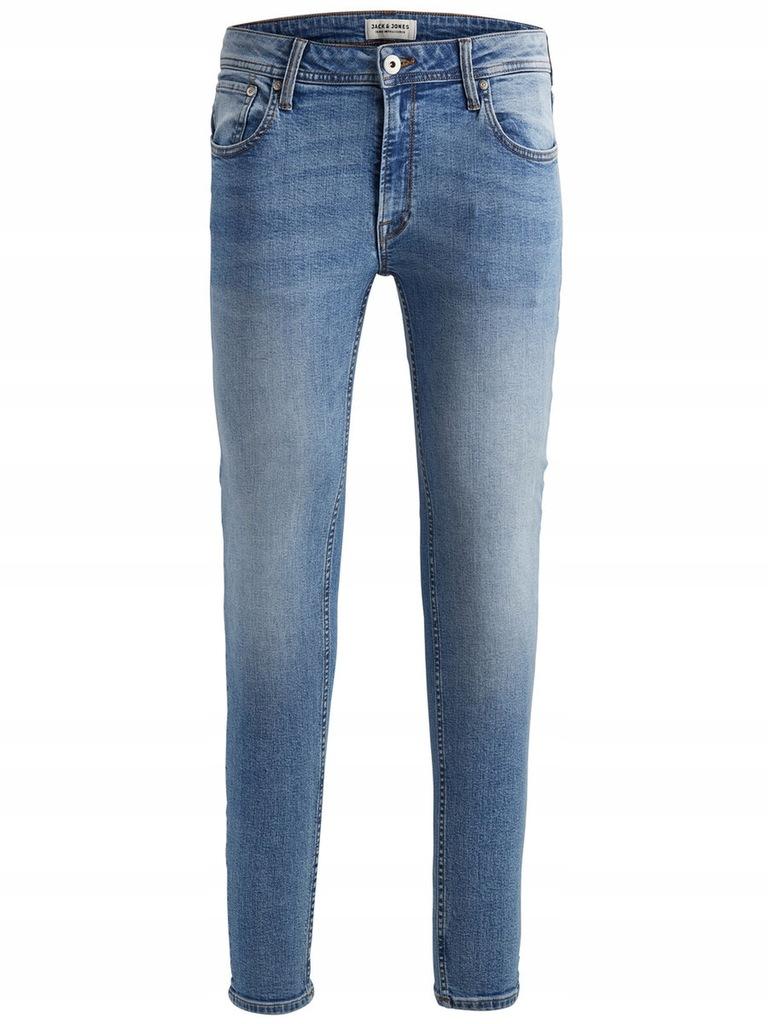 JACK&JONES męskie jeansy 12147583-BLU r 34/32