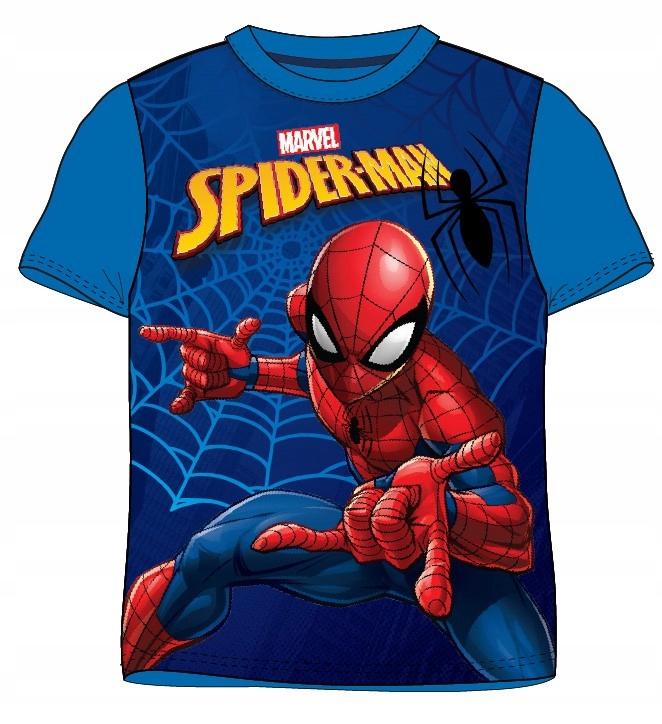 Spiderman koszulka t-shirt bluzka pająk 134 9 L