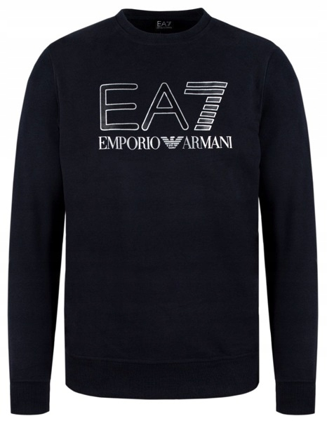 EA7 EMPORIO ARMANI czarna bluza męska EA73 r.XL