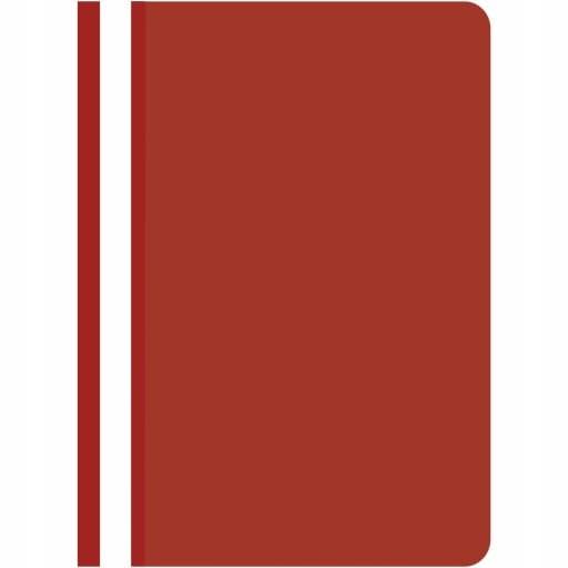 Skoroszyt czerwony A4 twardy 1 sztuka