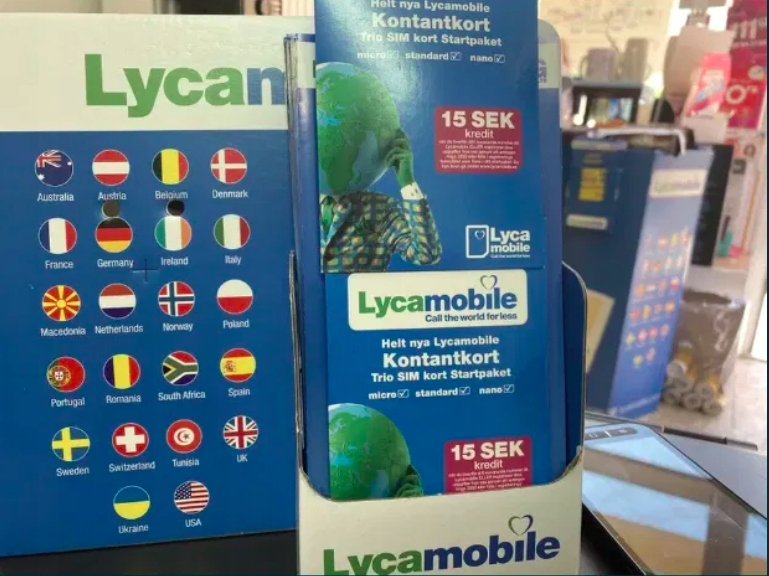 LycaMobile SE Szwecja Starter Prepaid SIM Card UE