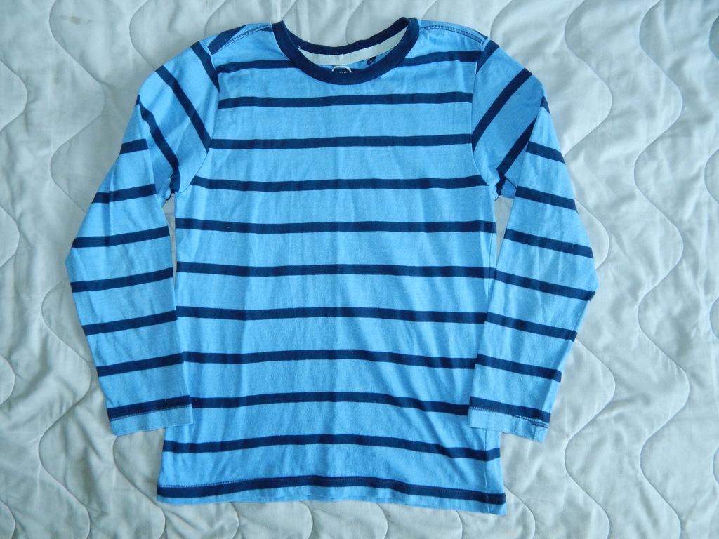 COOL CLUB bluzeczka paski 122cm