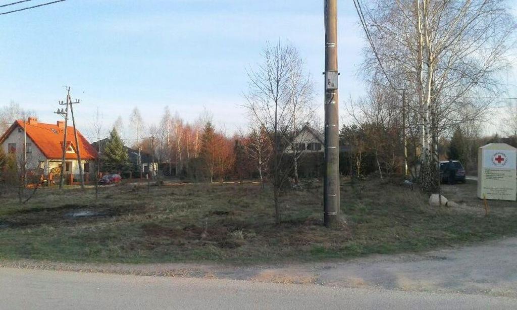 Działka, Stryków (gm.), Zgierski (pow.), 814 m²