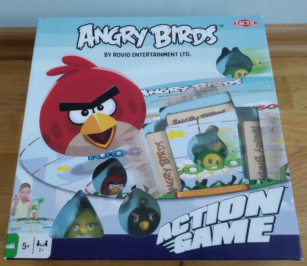 Angry Birds Gra Planszowa Zrecznosciowa 7885555538 Oficjalne Archiwum Allegro