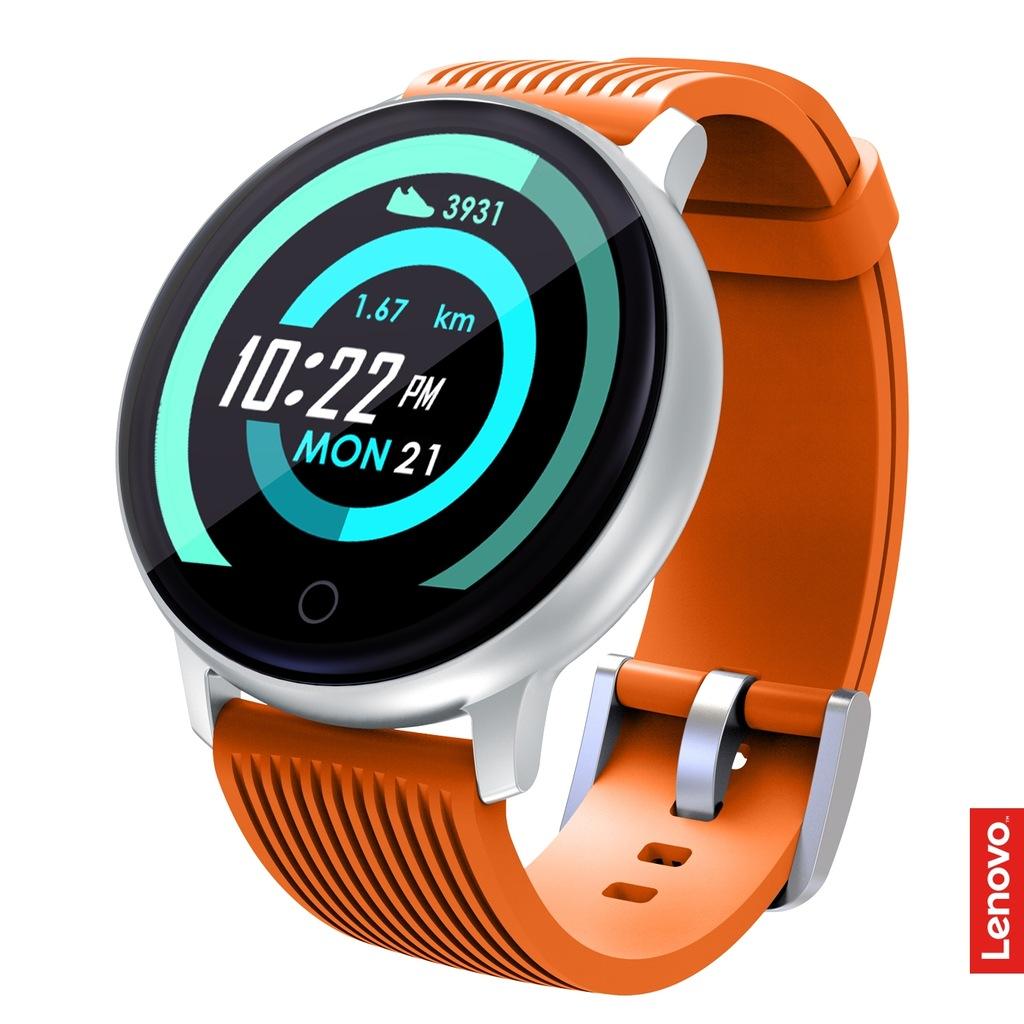 LENOVO BLAZE Smartwatch Zegarek Orange Sportowy