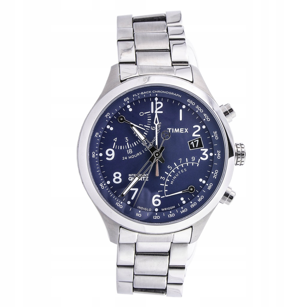 Zegarek TIMEX TW2P60600 chrono INDIGLO 10ATM