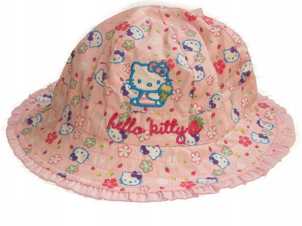 M&S Hello Kitty kapelusz na lato r. 6-18 msc.