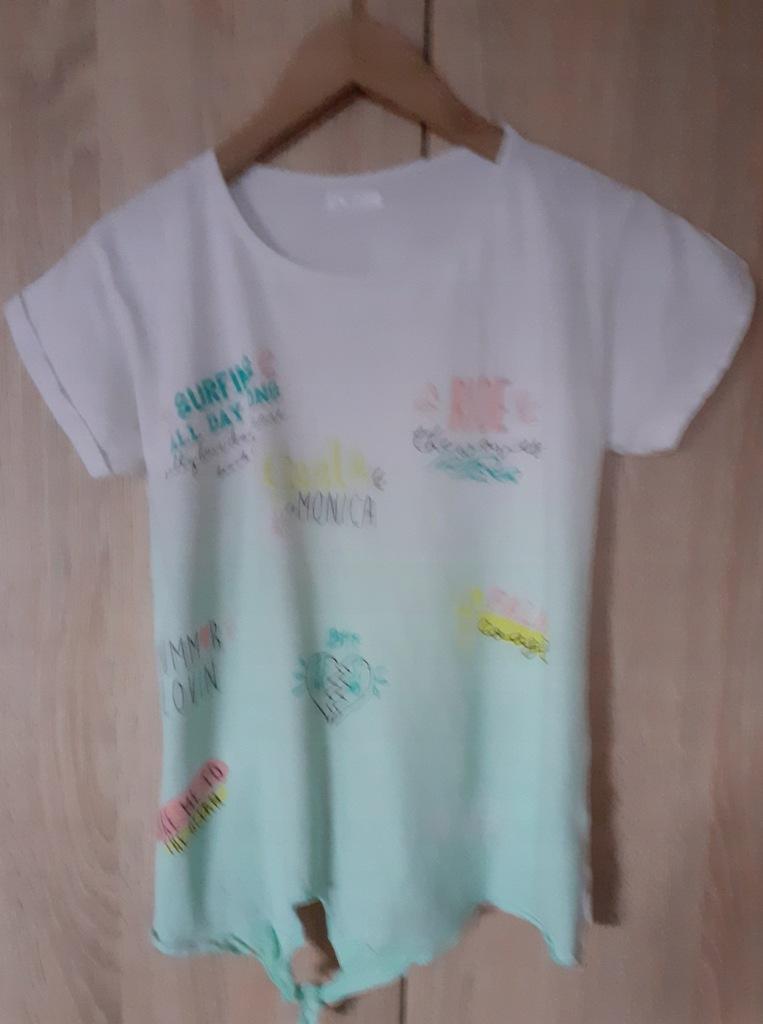 Girls Bardzo ładna letnia bluzeczka roz XS