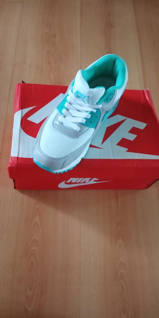 Buty Nike Air Max 90 Damskie Miętowe airmax'y r.40 Zdjęcie