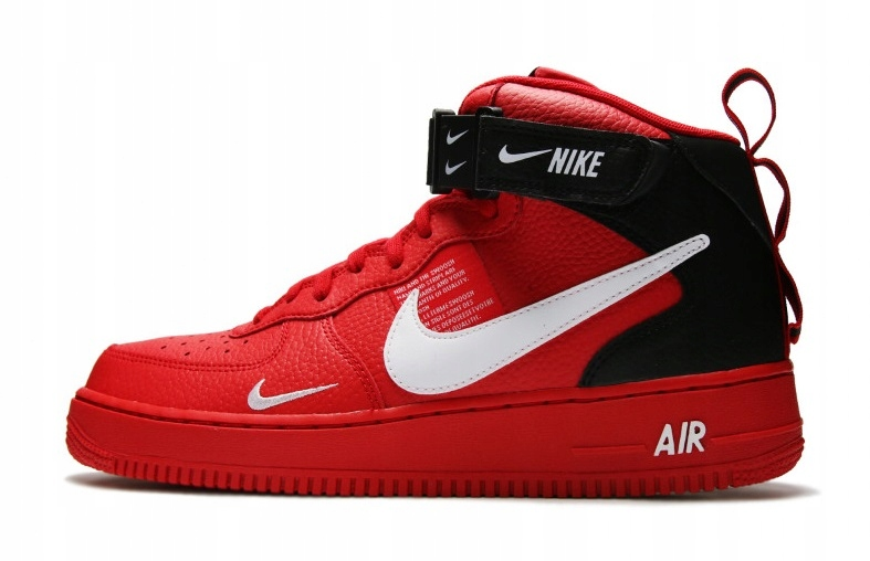NIKE AIR FORCE 1 MID '07 LV8 RED 804609 605, r. 40