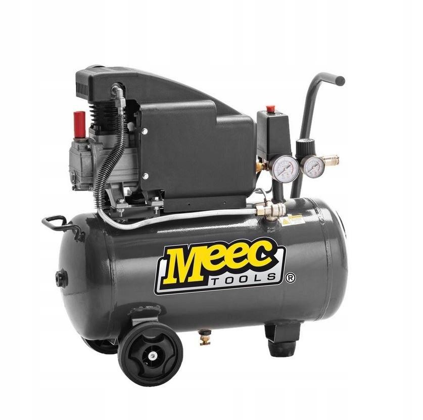 Kompresor 1000W 160l/min 24l olejowy dwa manometry