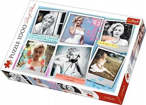 PUZZLE TREFL Fotografie Marilyn Monroe 1000