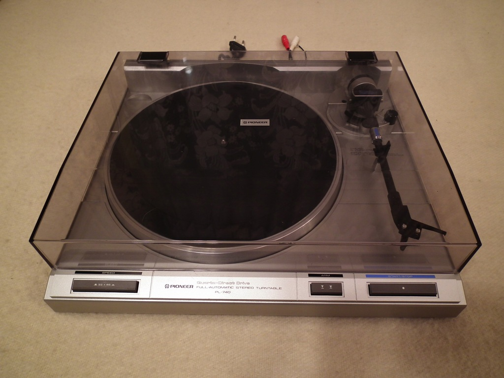 Gramofon PIONEER PL-740 Quartz Direct Drive-TOPOWY
