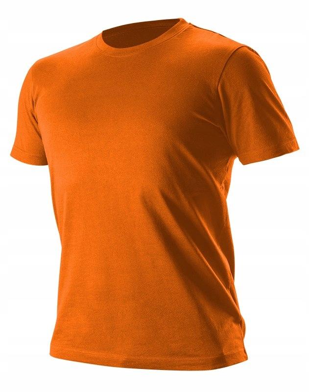T-shirt, pomarańczowy, rozmiar L, CE 81-611 NEO