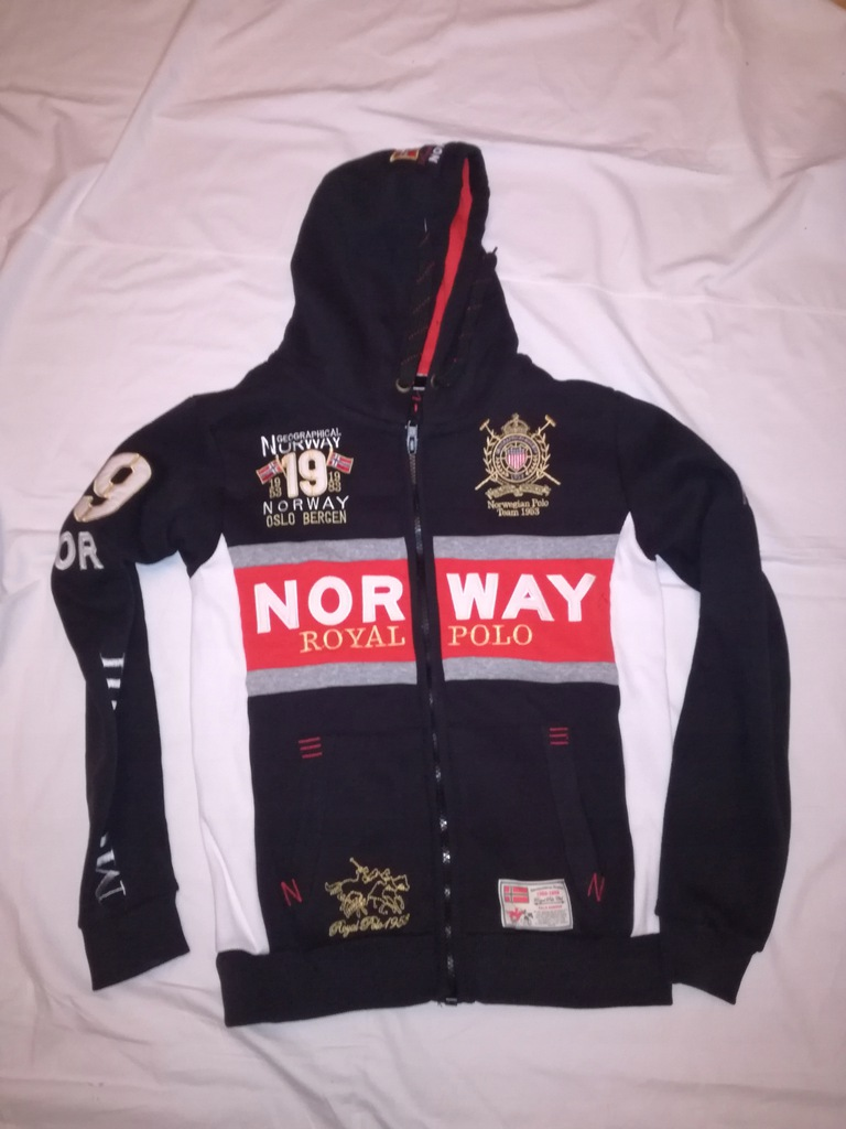 Geographical Norway super bluza L bdb