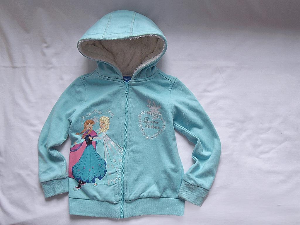 Bluza z kaptur.dla córki DISNEY, 110cm, 4-5 lat