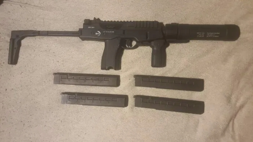 ASG - MP9 - Magazynki - Tłumik