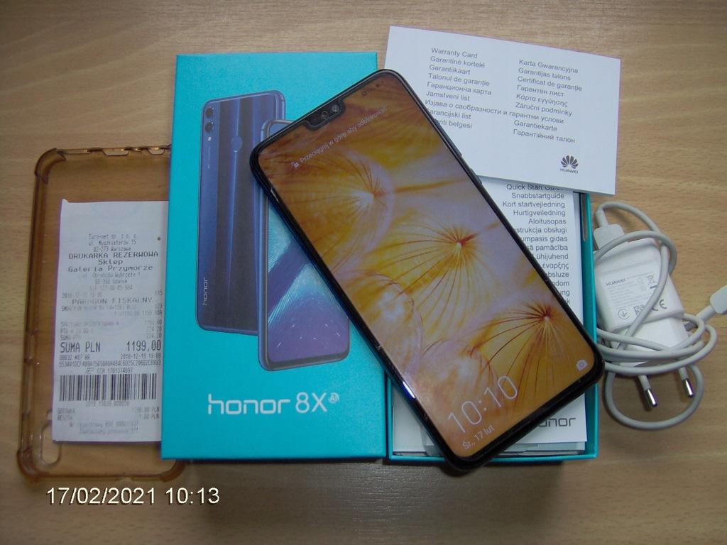 Smartfon Honor 8X 4 GB / 128 GB niebieski