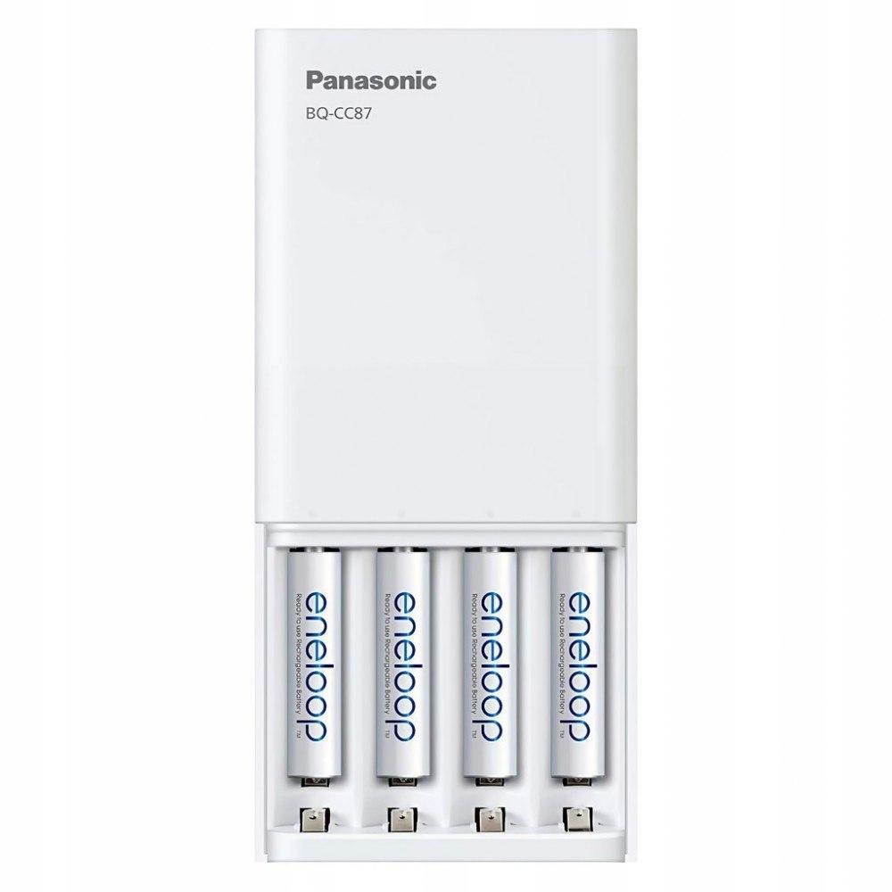 Ładowarka USB z funkcją powerbanku + AA 4szt