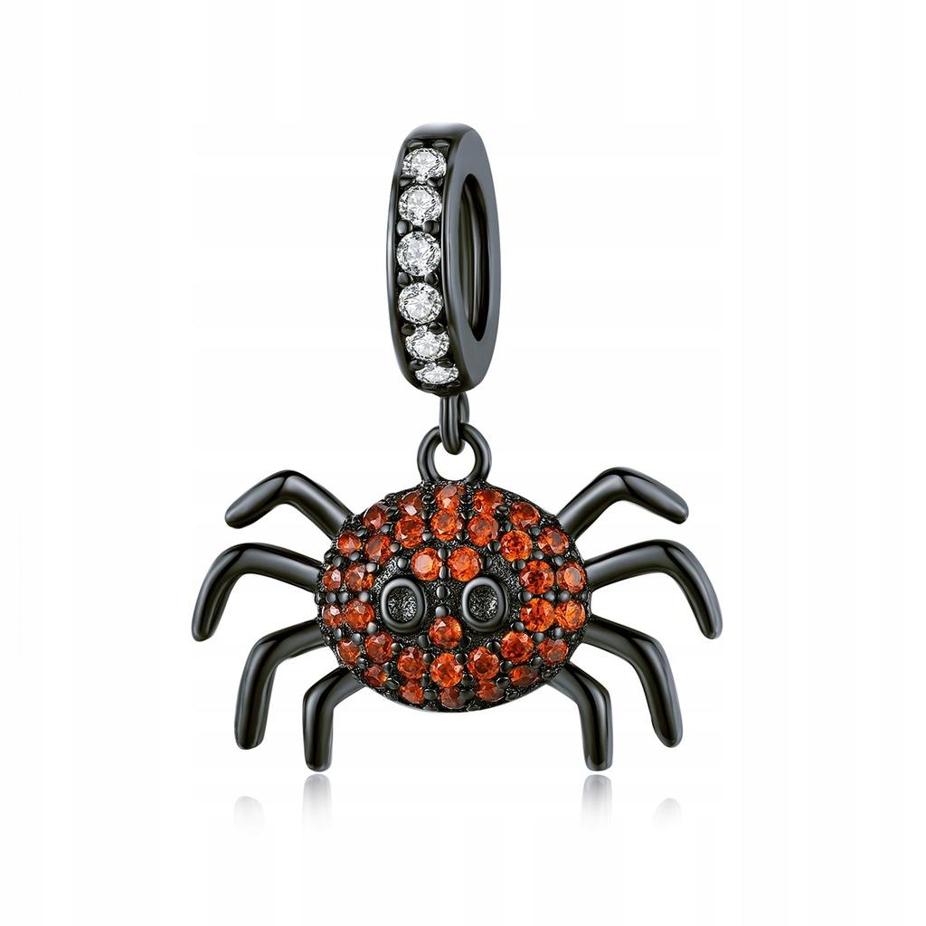 1PC Creative Spider Shape Pendant Pure Silver Hang