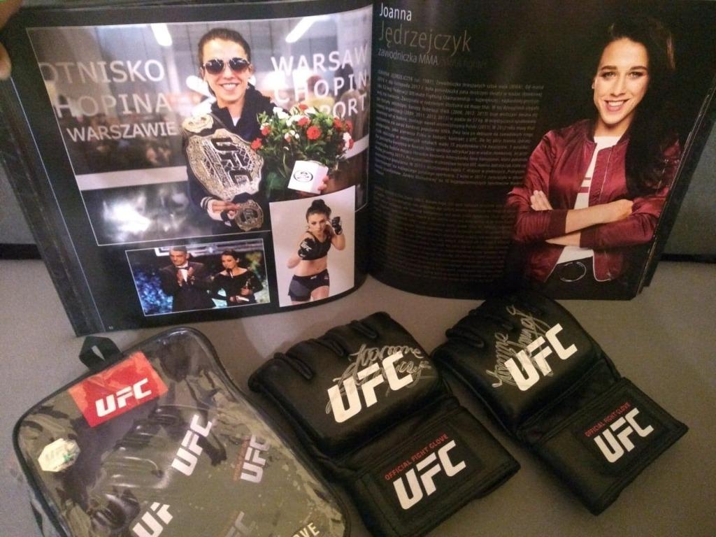 Oficjalne rekawice UFC od Joanny Jędrzejczyk