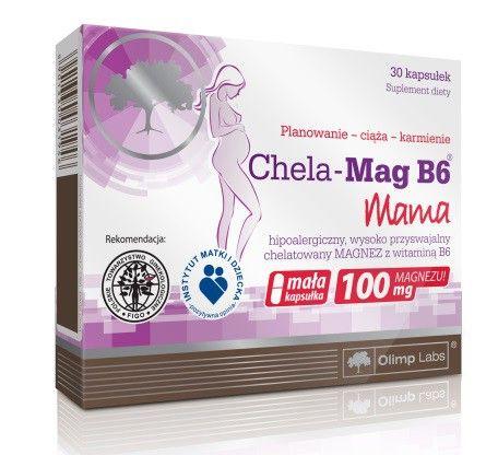 OLIMP CHELA-MAG B6 MAMA KAPS. - 30 KAPS.