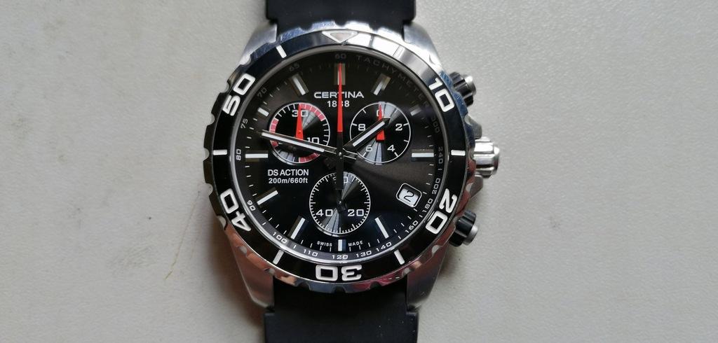 CERTINA - DS ACTION - 200m - chronograf zegarek