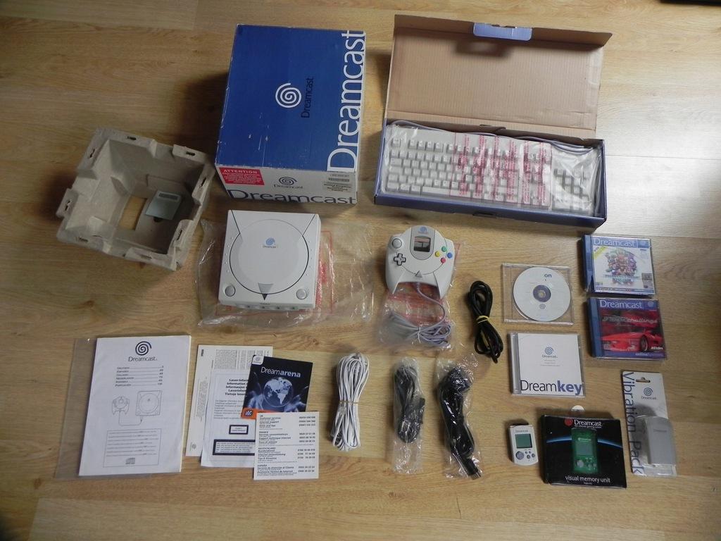 Konsola Dreamcast Box Stan Idealny Komplet Plomba