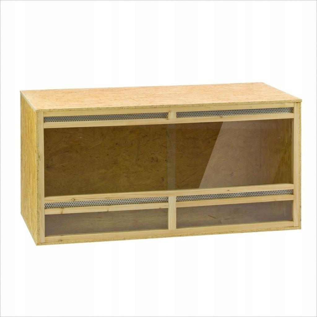Terrarium drewniane HT120 płyty OSB dla zwierzęt p
