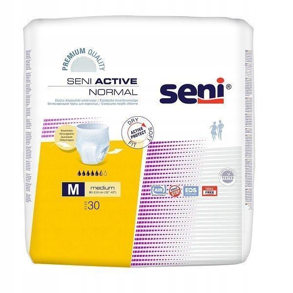 Seni Active Normal M 27 + 4 szt L (otwarte)