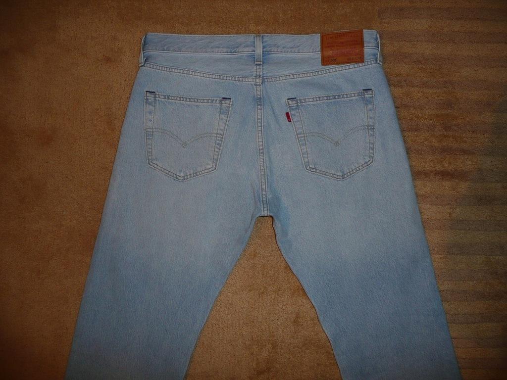Spodnie dżinsy LEVIS 501 W33/L32=45,5/107cm jeansy
