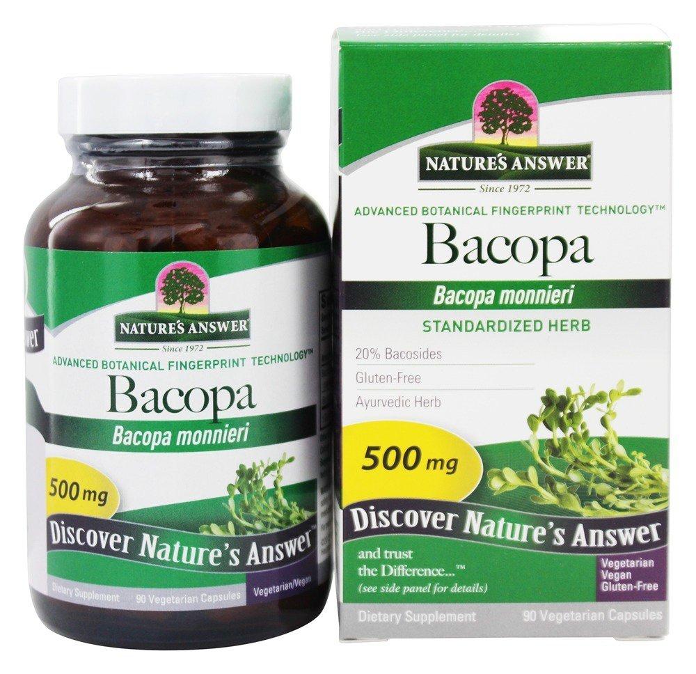 Nature's Answer Bacopa ekstrakt z ziela Bakopy dro