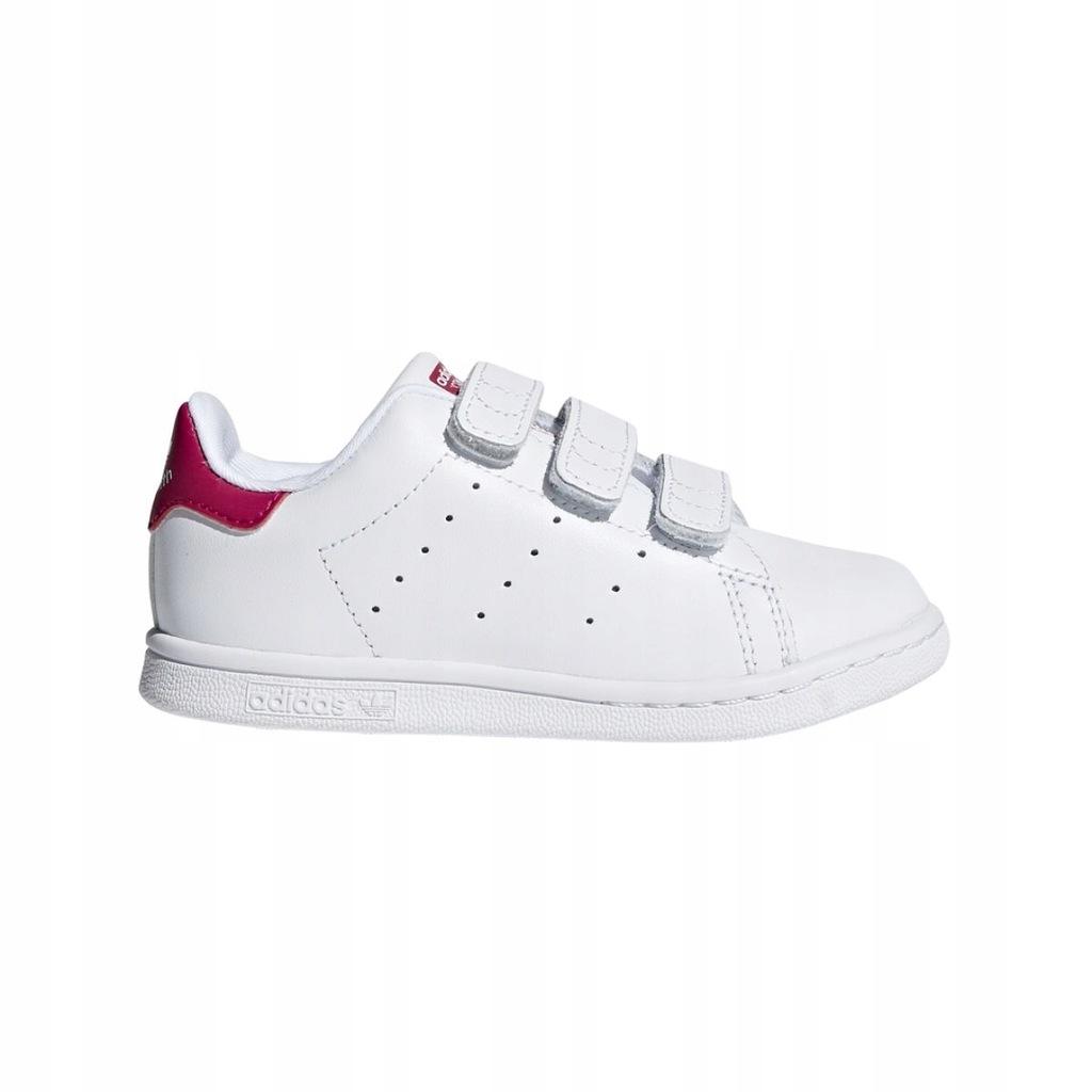 Buty dziecięce adidas Stan Smith rzepy BZ0523 22