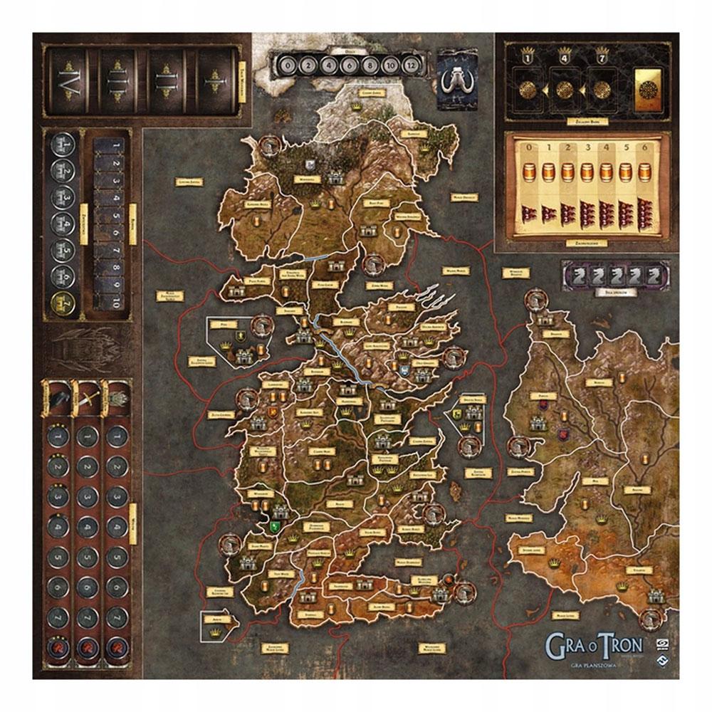 Galakta Gra O Tron 2 Edycja Mata Do Gry 7915761131 Oficjalne