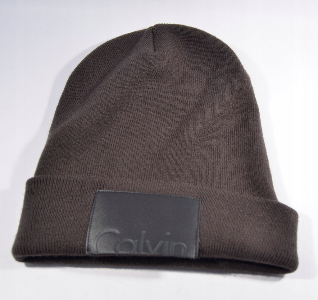 Ak6* calvin klein czapka na zimę