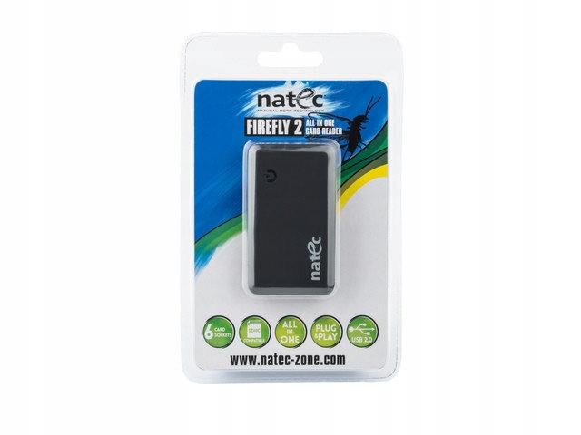 CZYTNIK KART ALL-IN-ONE FIREFLY 2 BLACK USB 2.0