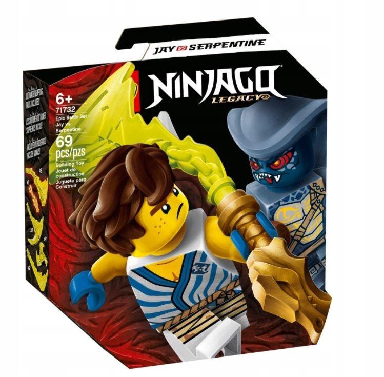 Klocki Ninjago Epicki zestaw bojowy Jay Wężon