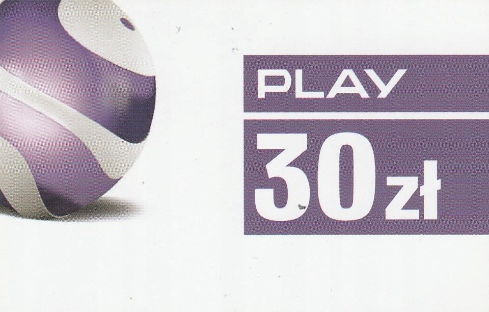 Play 30zł (2019/04/30)