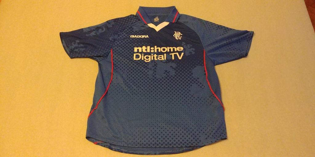 Koszulka Glasgow Rangers 2002/2003 (L) *Diadora*