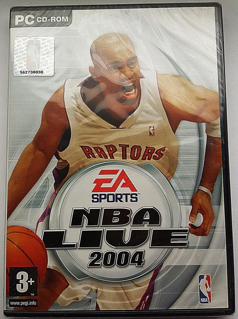 NBA LIVE 2004 PC NOWA W FOLII UNIKAT