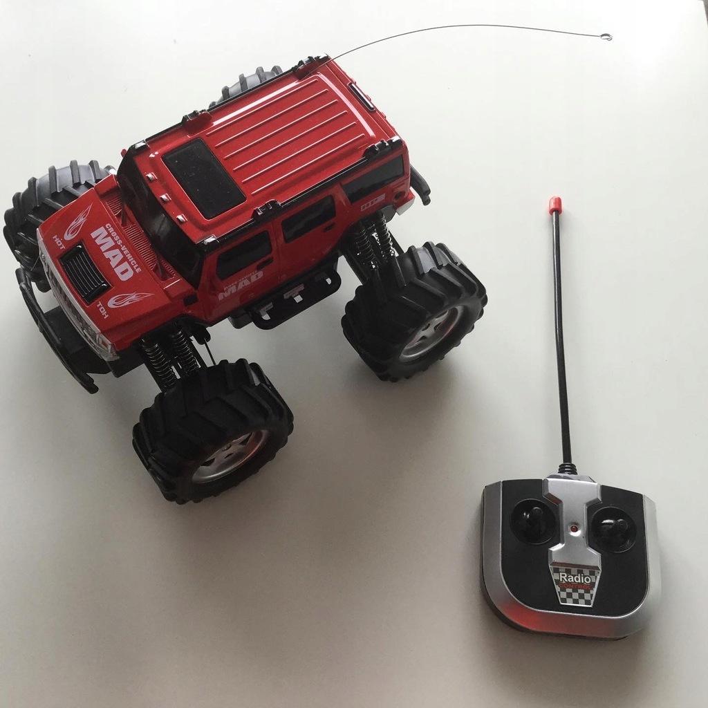Zdalnie sterowany RC Monster Truck czerwony duży