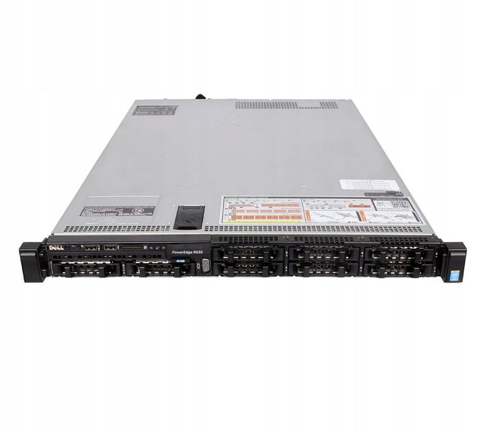 Dell R630 10x2.5 E5-2623v3 96GB H730p 8x480GB SSD